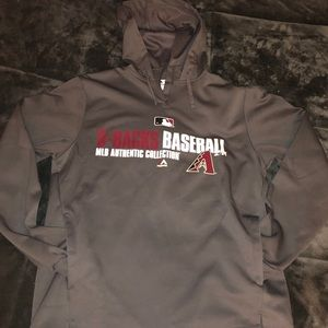 Arizona Diamondbacks Majestic MLB Authentic Hoodie